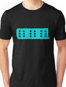 666 Cyan Unisex T-Shirt