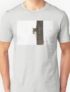 Hide and Seek! - Timber Wolf T-Shirt