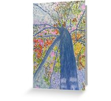 Tree of Many Colours Greeting Card