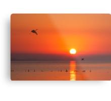 sunrise at chong-ming Metal Print