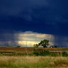 Weather along the Northwest Parkway by Klaus Girk