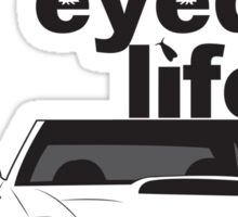 Subaru Bug Eyed life Sticker