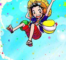 Luffy - Strong World by Seguchi-sama