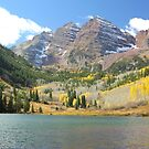 Maroon Bells by Eric Glaser