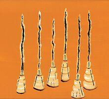 Sassafras Brooms by Tara  Henry