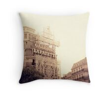 Galerie Lafayette Throw Pillow