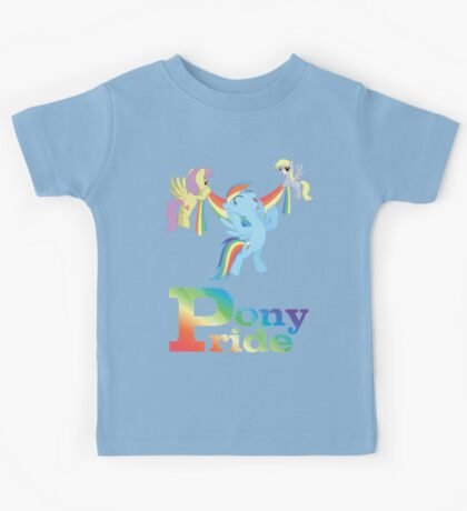 Pony Pride - with text Kids Clothes