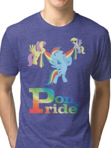 Pony Pride - with text Tri-blend T-Shirt