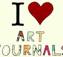 I Love Art Journals by doomarchivist