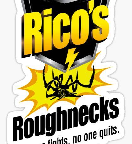 Rico's Roughnecks Sticker