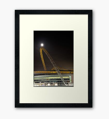 Wembley by Moonlight Framed Print