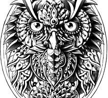 Owl Portrait by BioWorkZ