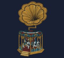 Carousel Player Baby Tee