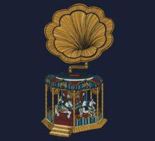 Carousel Player Kids Tee