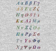 Greek Alphabet Kids Clothes