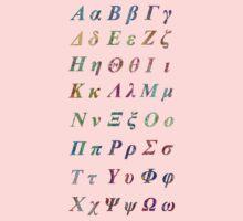 Greek Alphabet One Piece - Long Sleeve