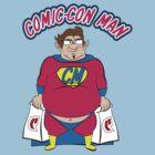 Comic-Con Man by macmarlon