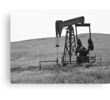 Pumpin' Crude Canvas Print