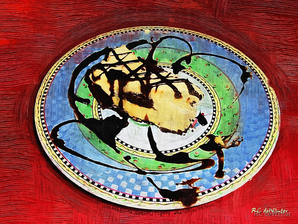 The Chipped Plate by RC deWinter