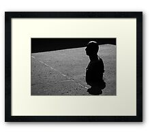 Gormley 1x6 - In Shadow And Light Framed Print