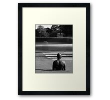 Gormley 1x6 - Watching For Miracles Framed Print