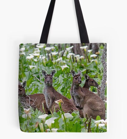 Kangaroos in the Tuart Forest Tote Bag