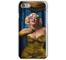 Dirty Martini Burlesque Painting iPhone Case/Skin