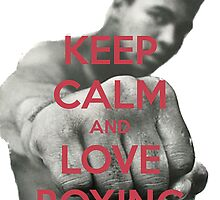 Keep Calm and Love Boxing by Warco