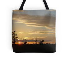 Beautiful October Sunset 2015 Tote Bag