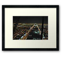 Kingdom  Tower Framed Print