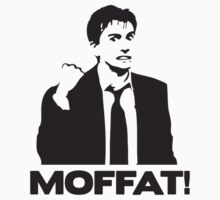 MOFFAT! David Tennant Fist Shake T-Shirt