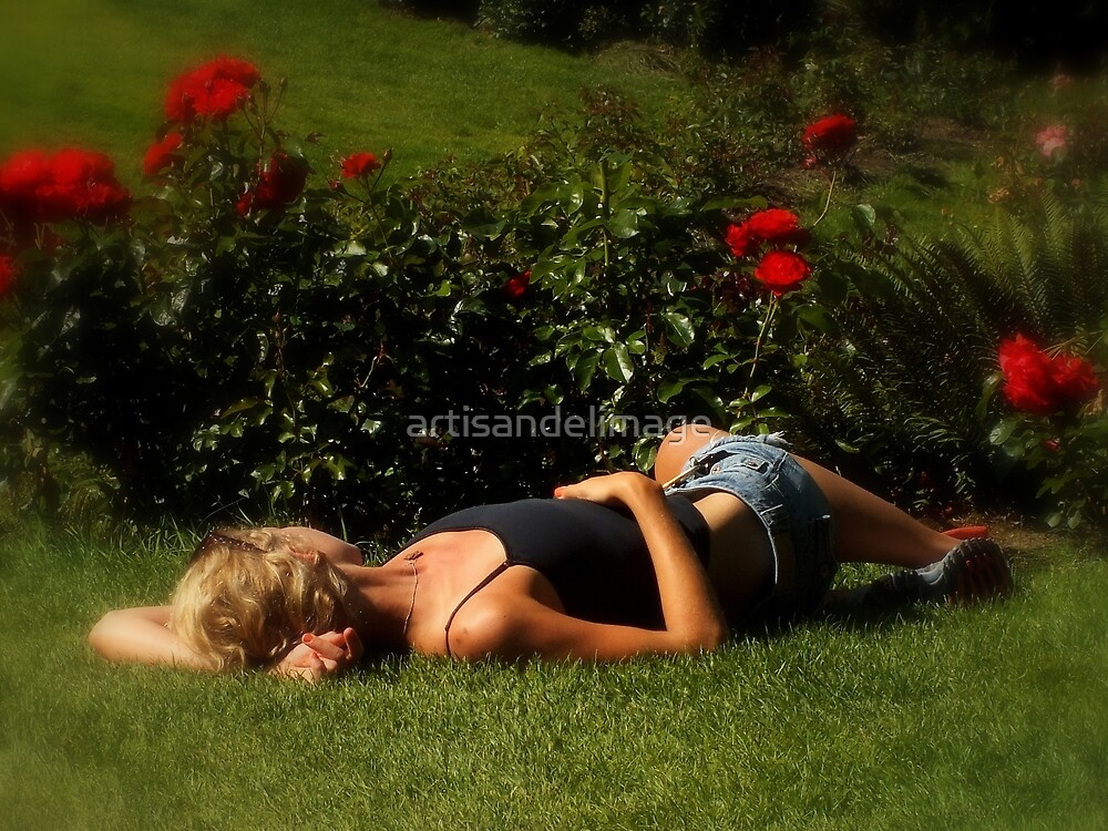 Sleeping Beauty (Oregonian Style) by artisandelimage