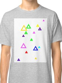Colourful triangles Classic T-Shirt
