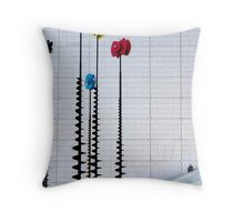 La Defense puzzle Throw Pillow