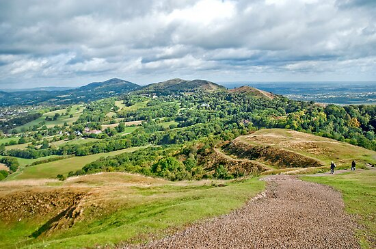 The Malverns by Sue Knowles