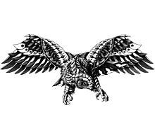 Ornate Falcon Photographic Print