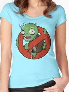 Zombie Buster Women's Fitted Scoop T-Shirt