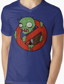 Zombie Buster Mens V-Neck T-Shirt