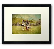Ready, Aim, Fire Framed Print