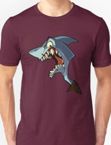 Angry blue shark with shading T-Shirt