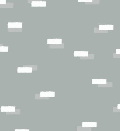 Geometric blocks seamless pattern Sticker