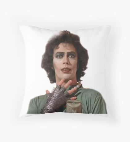Dr Frank N Furter Throw Pillow