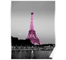 La Vie En Rose - Eiffel Tower in pink Poster