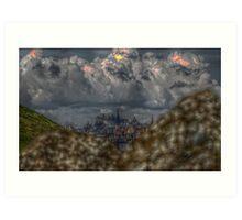 Edinburgh HDR Art Print