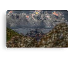 Edinburgh HDR Canvas Print