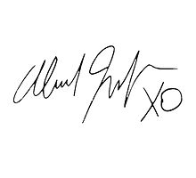 The Weeknd - Signature Photographic Print