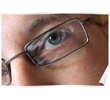Through the eye of a lens  Poster