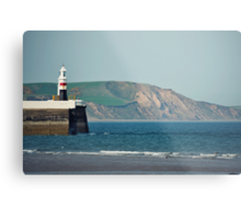Ramsey Coastline - A View From The Pier Metal Print