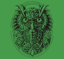 Owl Portrait Baby Tee