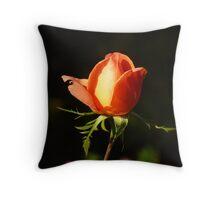 Catherine Deneuve Rose Throw Pillow